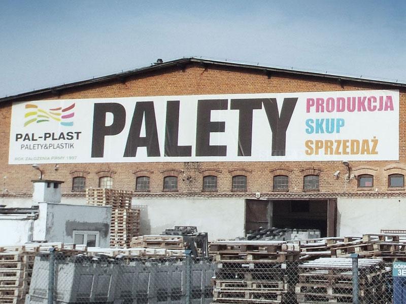 Bardzo dobra Pal Plast - palety, produkcja, skup, sprzedaż palet KJ95